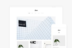 Neue - WordPress Portfolio Theme