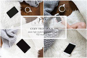 Cozy Iphone and Ipad Mock Ups