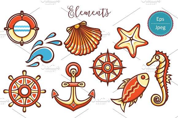 Sea Toy Nautical Ornament