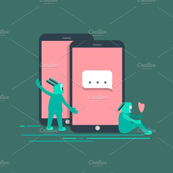 Social Technology Internet Vector