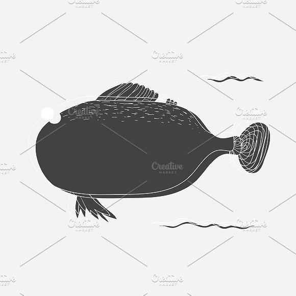 Underwater Fish Vector