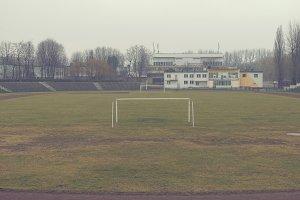 Old soccer field