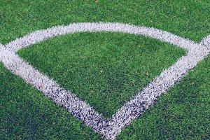 Corner soccer field