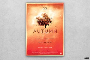 Autumn Equinox Flyer Template V3