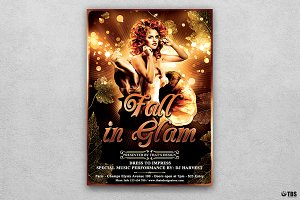 Fall in Glam Flyer Template V2