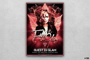 Fall in Glam Flyer Template V4