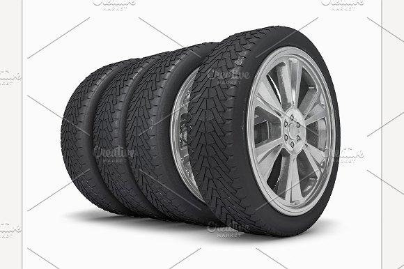 Winter Tires With Hard Protector