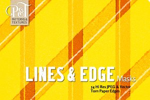 Lines & Edge Masks