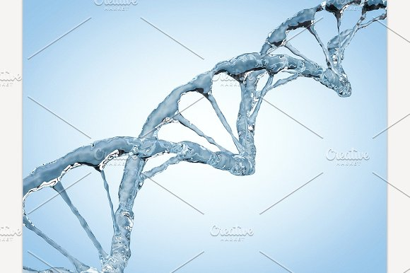 DNA Chain Of Water