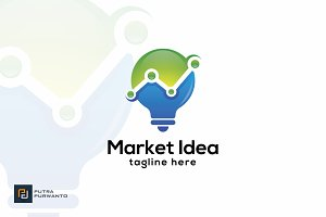 Market Idea - Logo Template
