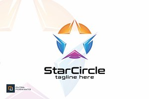 Star Circle - Logo Template