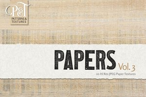 Papers Vol. 3