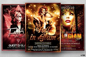 Fall in Glam Flyer Bundle V1