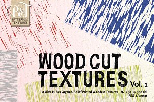 Wood Cut Textures Vol. 1