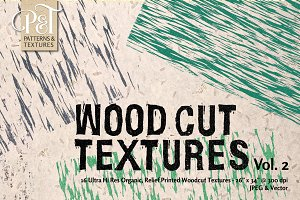 Wood Cut Textures Vol. 2