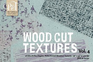 Wood Cut Textures Vol. 4