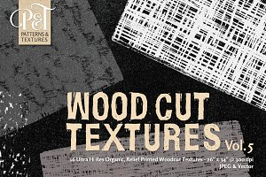 Wood Cut Textures Vol. 5