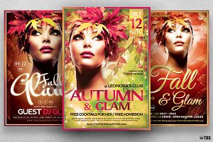 Fall in Glam Flyer Bundle V2