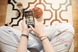 Blogger's cozy mornings