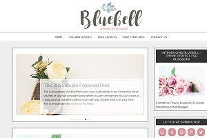 Bluebell Child Theme