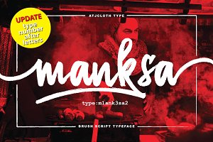 Update!!! Manksa Typeface (off 30%)
