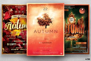 Autumn Equinox Flyer Bundle