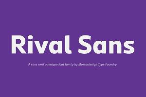 Rival Sans Font Family