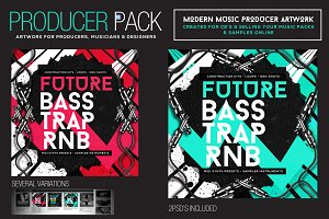 Music Producer Sound-Pack Artwork