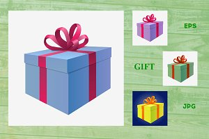 Giftbox present icon