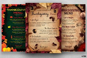 Thanksgiving Menu Bundle