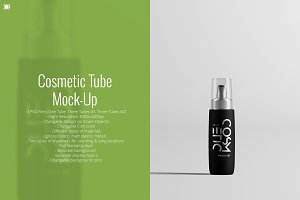 Cosmetic Tube Mock-Up