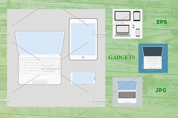 Set Of Gadgets