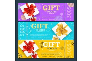 Gift Voucher with Present Box