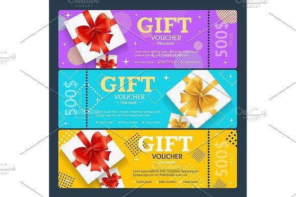 Gift Voucher With Present Box