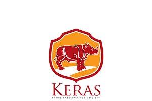Keras Rhino Preservation Logo
