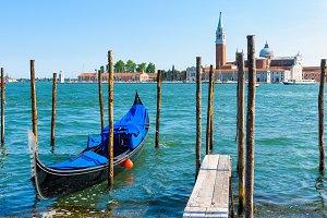 Pier with the gondola
