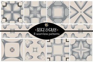 Set 69 - 8 Seamless Patterns