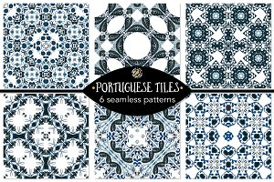Set 71 - 6 Seamless Patterns