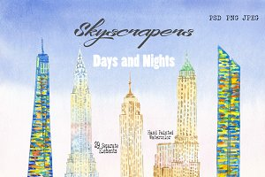Skyscrapers.Days and Nights