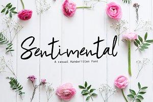 Sentimental | Script Font