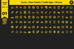 Triumph Icons Pack 10
