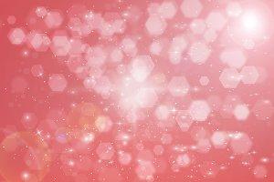 Abstract Hexagon bokeh background