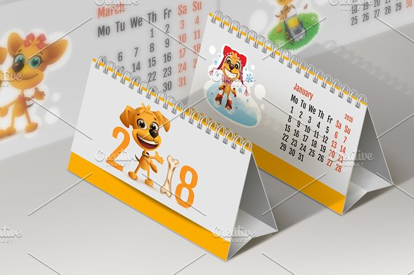 2018 Yellow Dog Calendar