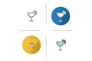 Margarita cocktail icon