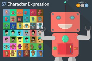 57 Character Expression