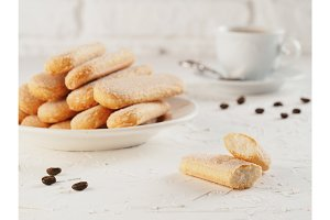 ladyfinger savoiardi biscuit cookie