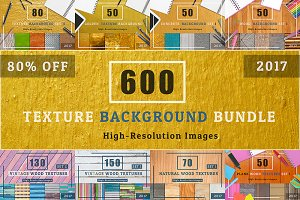 600 TEXTURE BACKGROUND BUNDLE