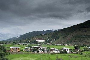 Bhutan -Cities-Postcards-13Nos.