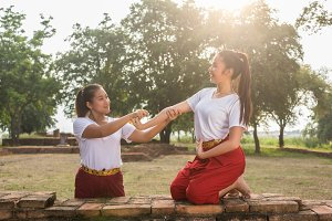 Thai Dancing art