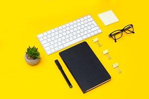 Office Desk. Geometric style